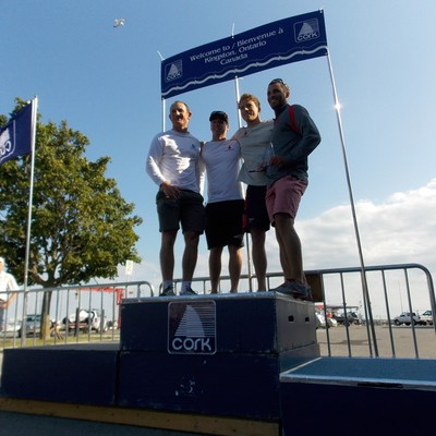 KYC's Robert Davis places 3rd at North American Laser Champs in Kingston